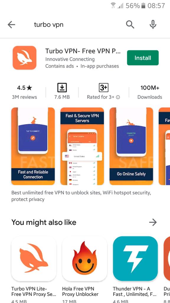 Turbo VPN - 1