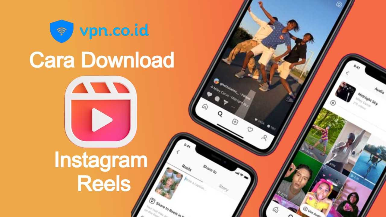 Cara Download Reels Instagram