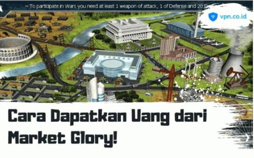 cara dapatkan uang dari game Marketglory