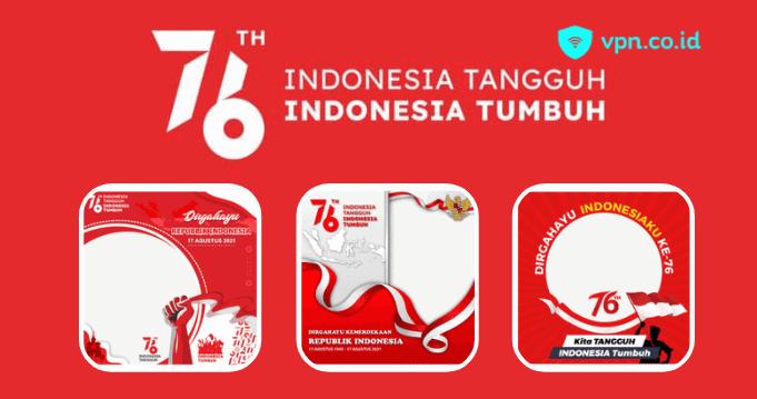 Twibbon Hari Kemerdekaan Indonesia 2021